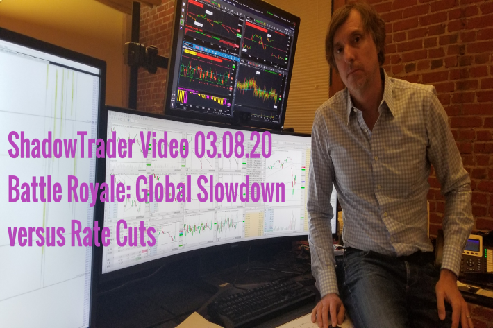ShadowTrader Video Weekly 03.08.20 | Battle Royale: Global Slowdown vs Rate Cuts