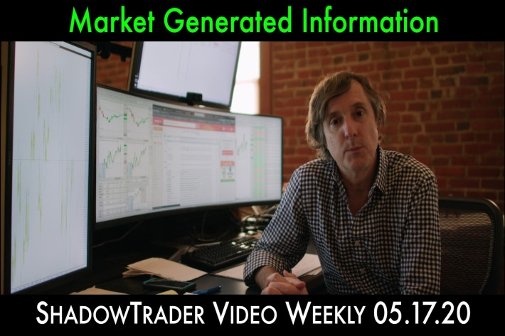 ShadowTrader Video Weekly 05.17.20 | Market Generated Information (M.G.I.)