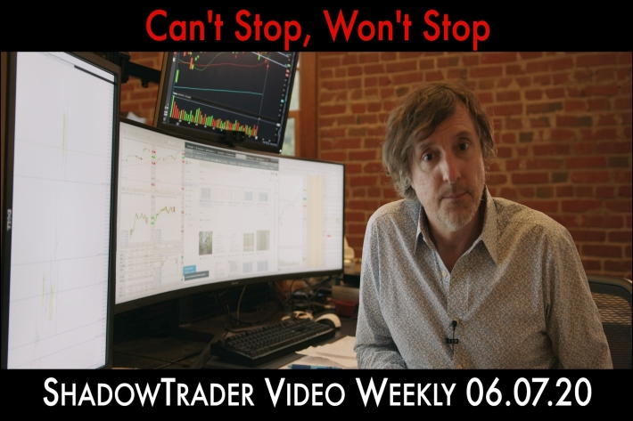 ShadowTrader Video Weekly 06.07.20 | Can't Stop, Won't Stop