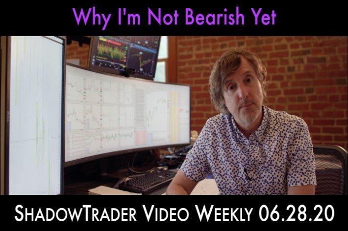 ShadowTrader Video Weekly 06.28.20 | Why I'm Not Bearish Yet