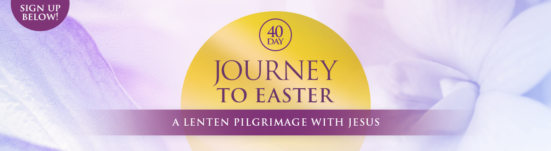 During the 40 Days of the Lenten Season, your journey will be enriched through free devotionals, Scripture readings, and prayer.