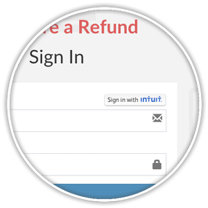 sign in with intuit login credentials