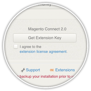 magneto get extension key