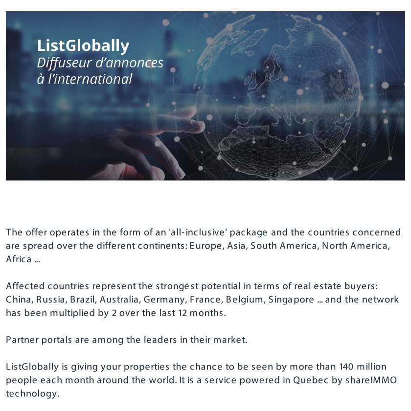 Lavinia Ladau | List Globally | A complete offer of real estate
