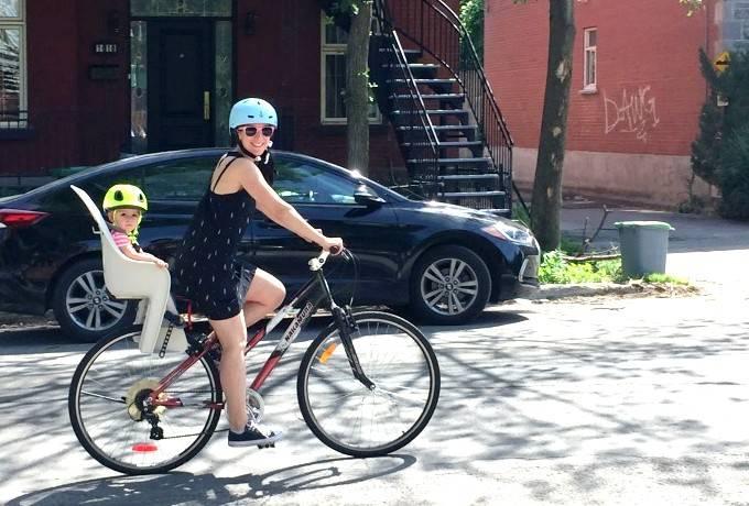 Hochelaga à vélo en famille