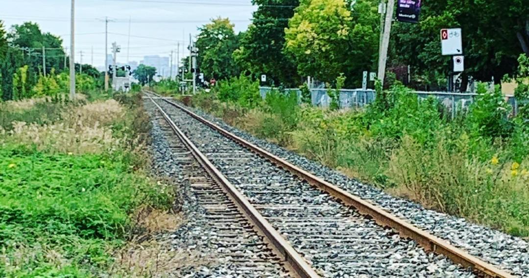 Tétreaultville Chemin de fer Mercier Est