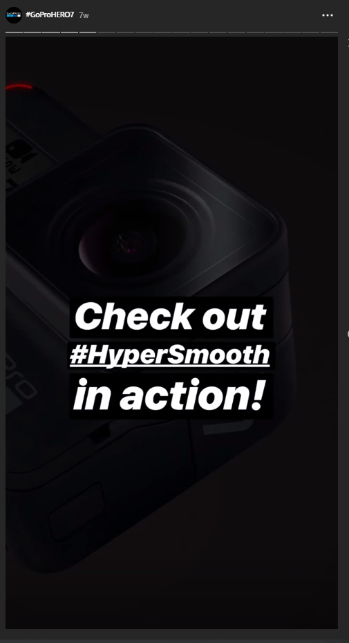 hashtag-example-gopro