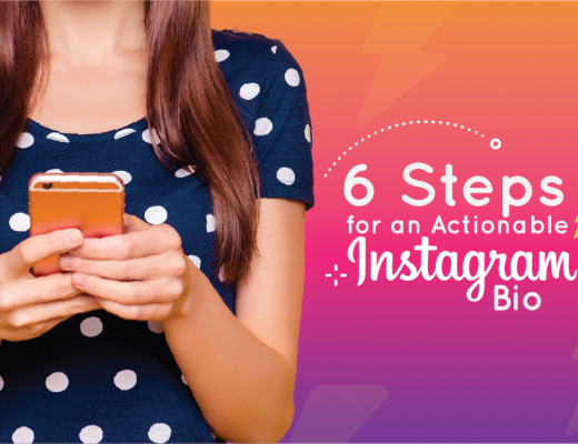 Actionable Instagram Bio and Profile