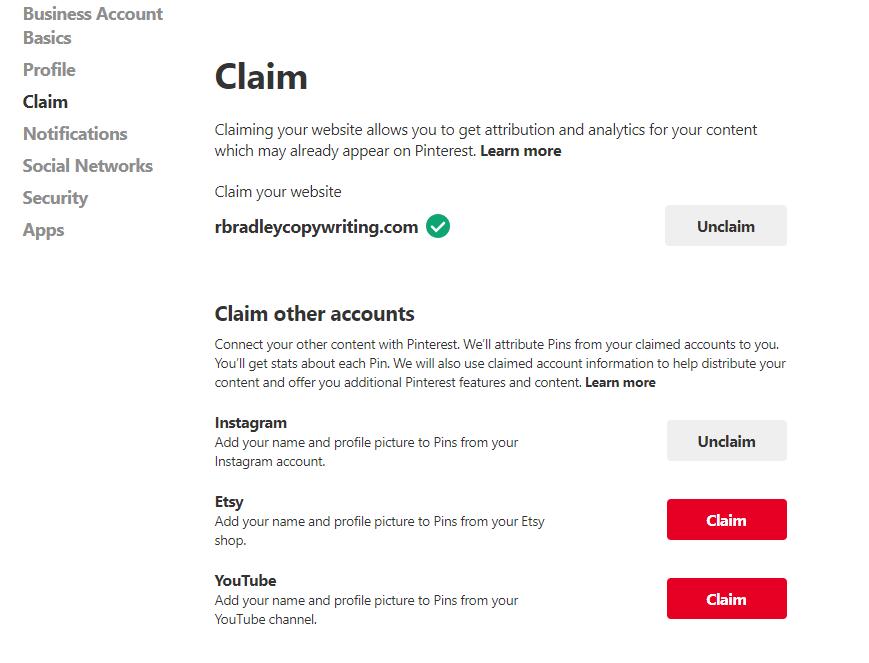 Pinterest-claim-social-networks