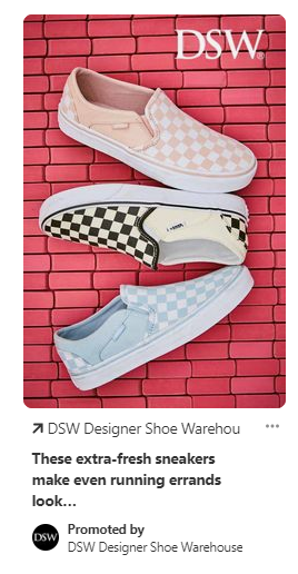 DSW-Warehouse-ad-on-Pinterest