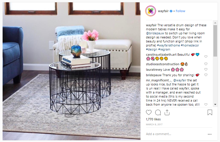 Wayfair on Instagram
