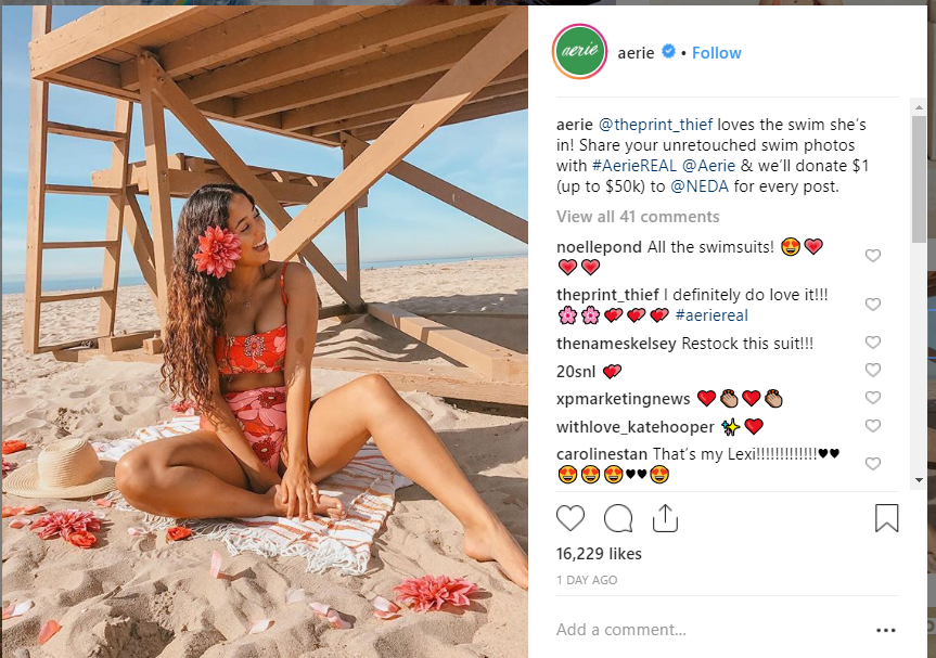 Aerie on Instagram