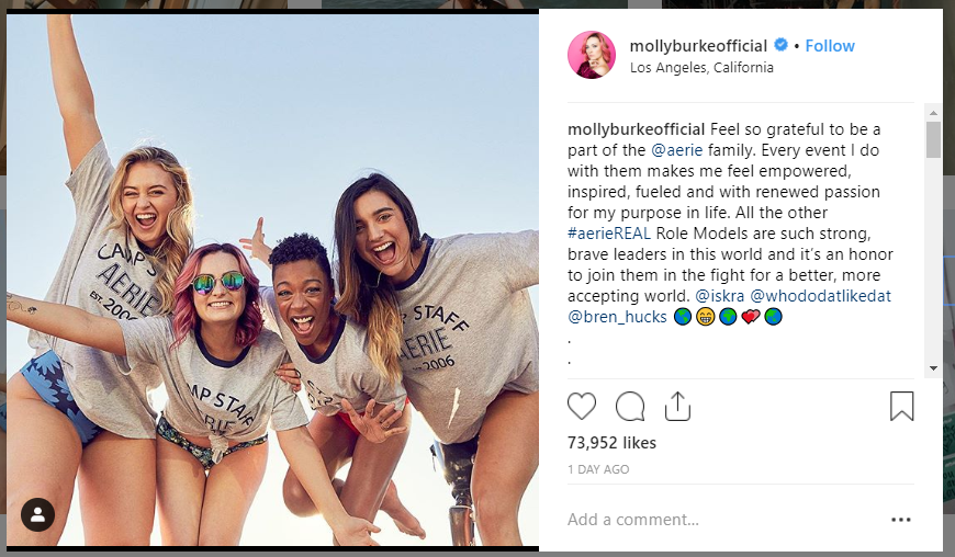 Molly Burke on Instagram