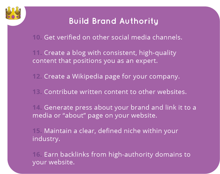 Seven Ways to Build Brand Authority