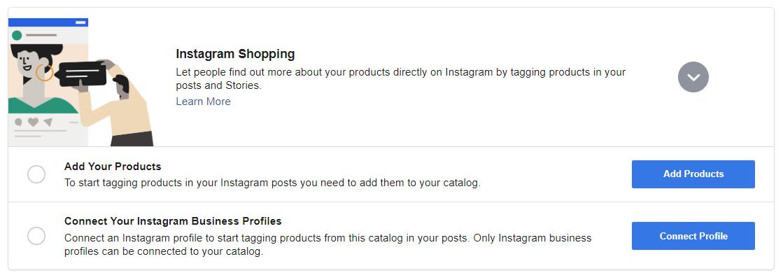 Facebook Catalog setup step five