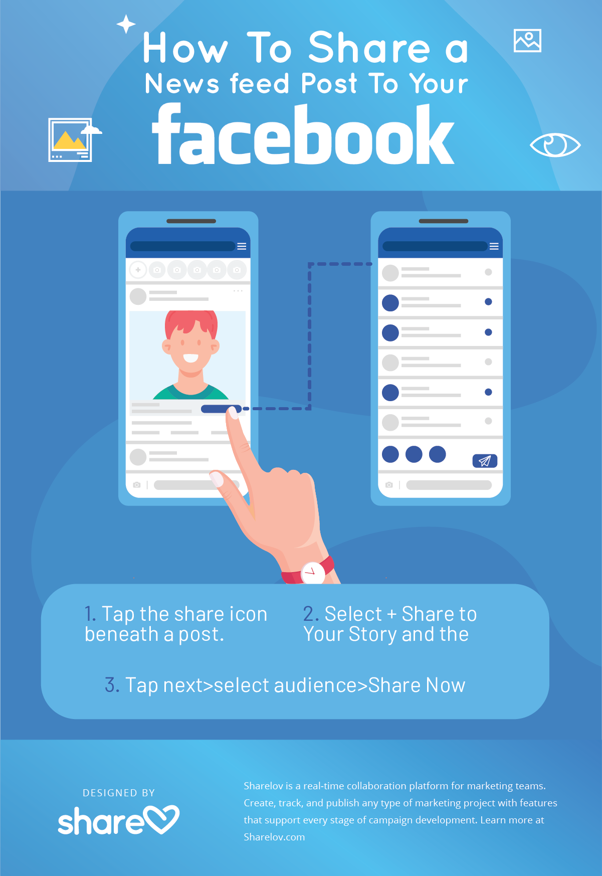 How To Share a Newsfeed Post To Your Facebook Story