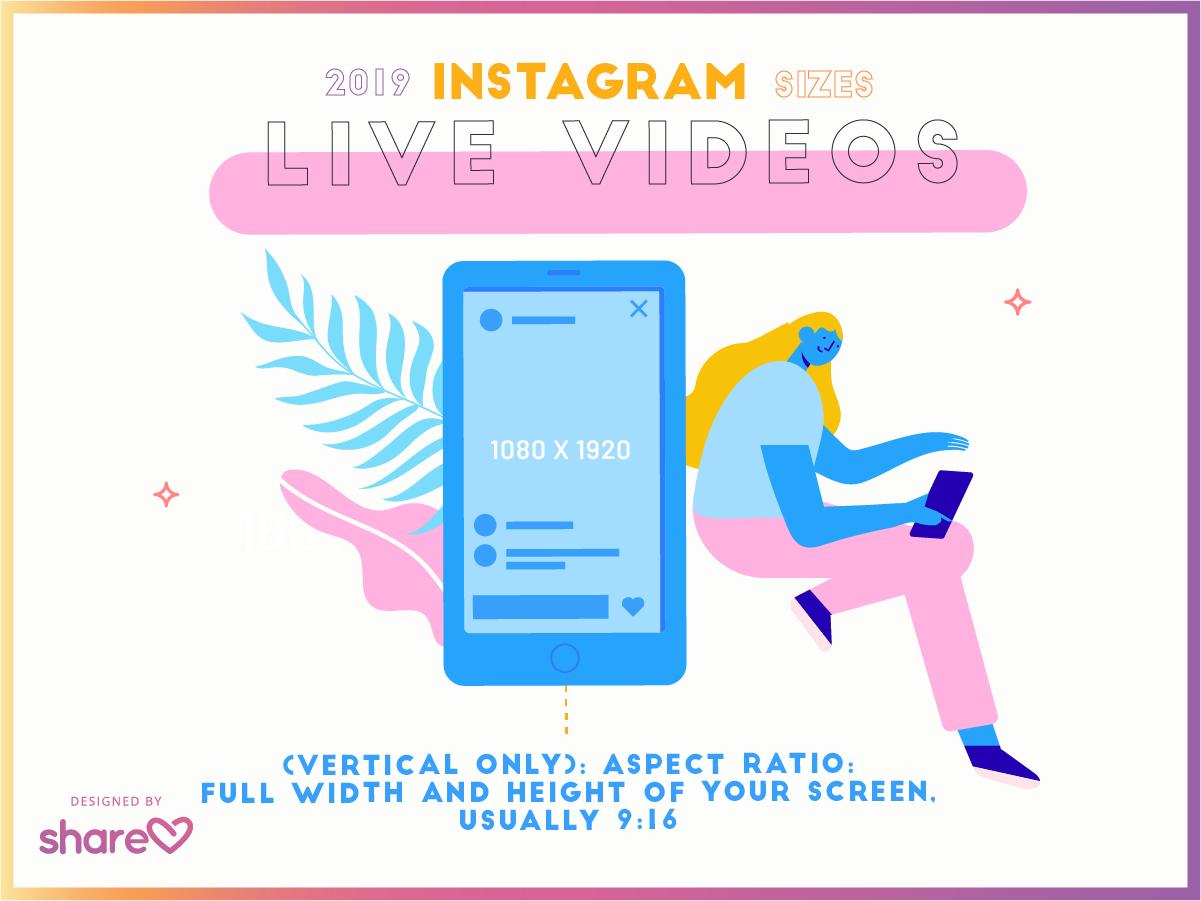 instagram live video sizes