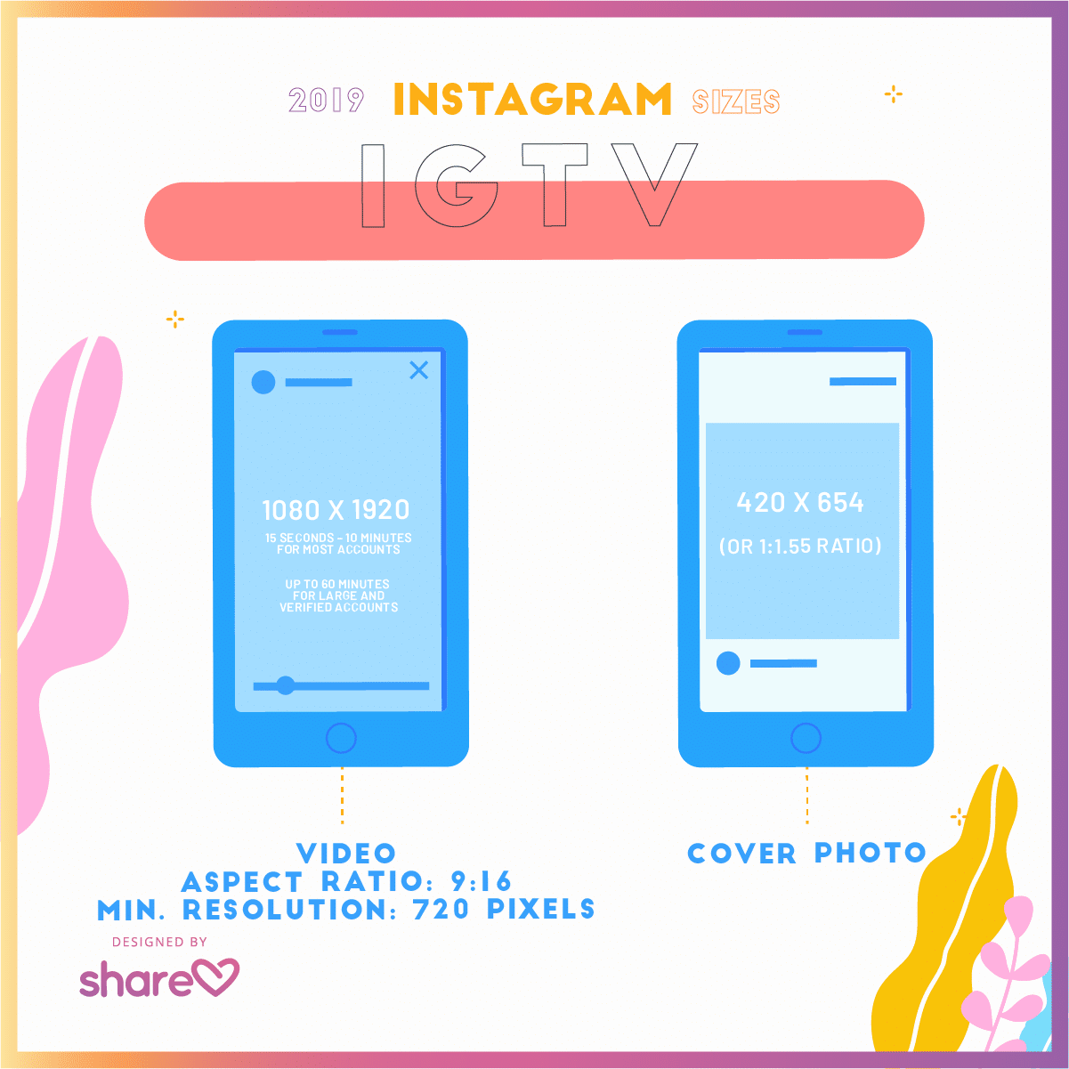 Instagram Images Sizes for 2019 - A Quick-Glance Guide for