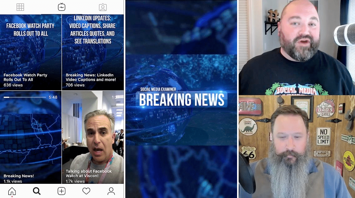 instagram breaking news video SME