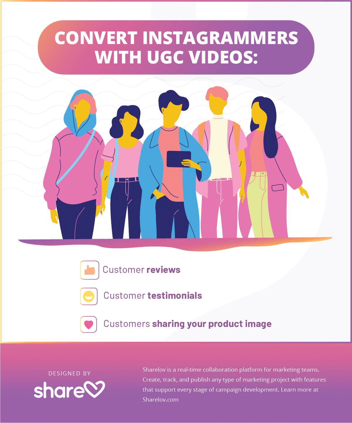 Convert instagrammer with ugc videos