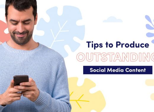 Tips to produce outstanding Social Media Content cover