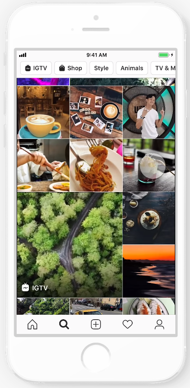 IG explore feed ads 2