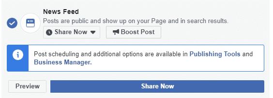 facebook post scheduling 2