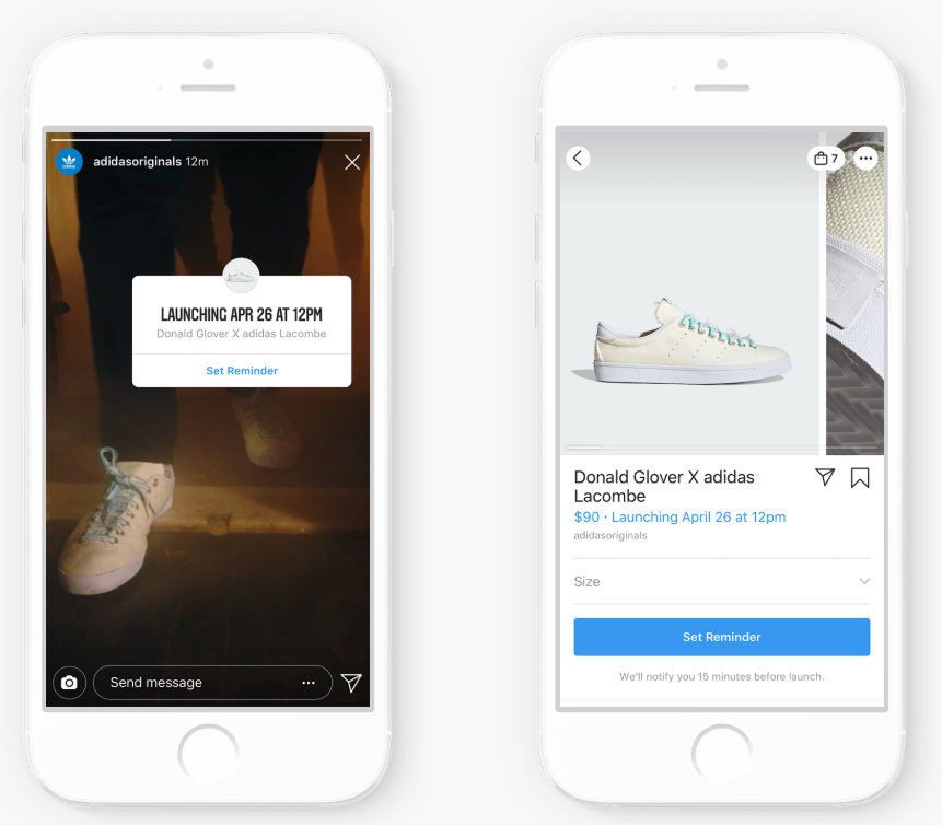 product launch reminder sticker instagram