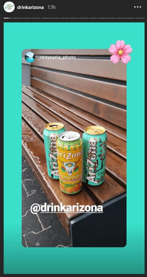 Brand mentions drink arizona