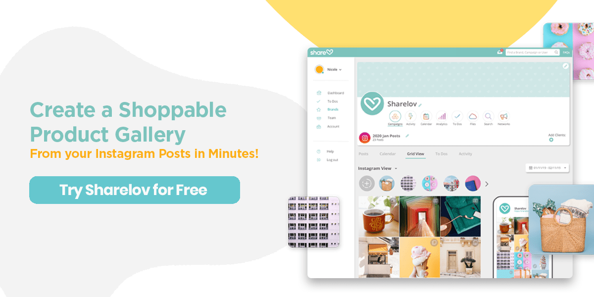 Create a shoppable product gallery from your Instagram posts in minutes!