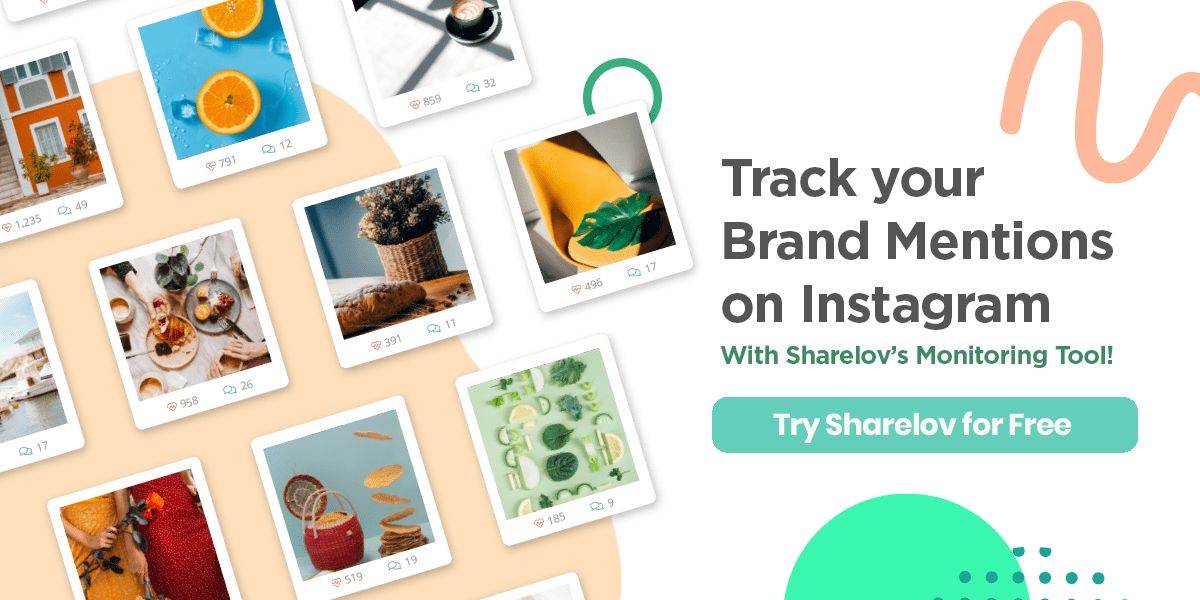 Track your brand mentions on Instagram