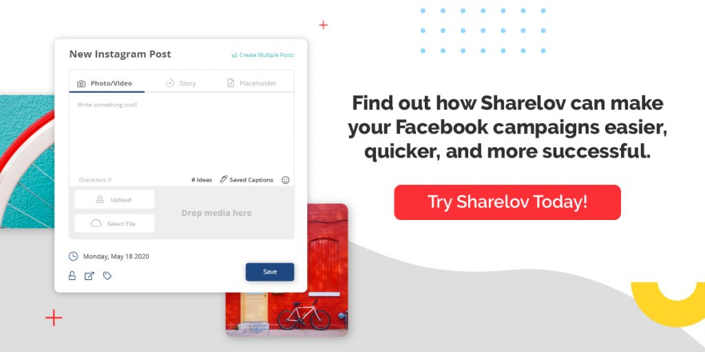 Find out how Sharelov can make your Facebook campaigns easier, quicker, and more successful.