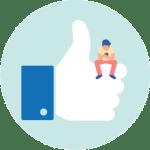 Facebook social media sizes