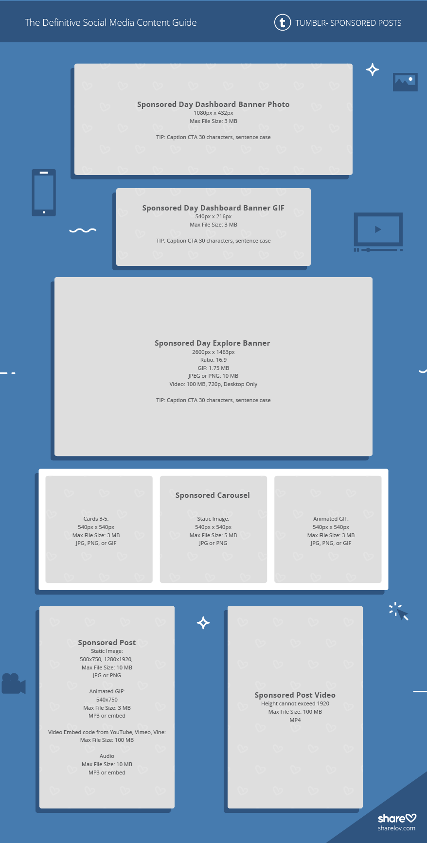 Tumblr Sponsored Posts image sizes