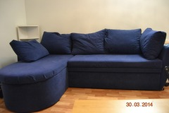 Selling: Navy Blue Sofa bed