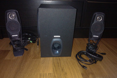 Selling: Computer speakers + subwoofer