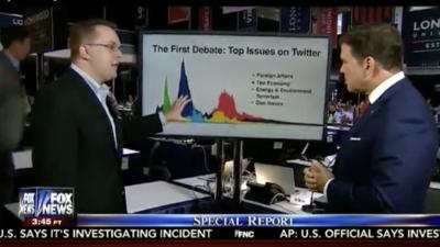 Twitter Trends at the VP Debate