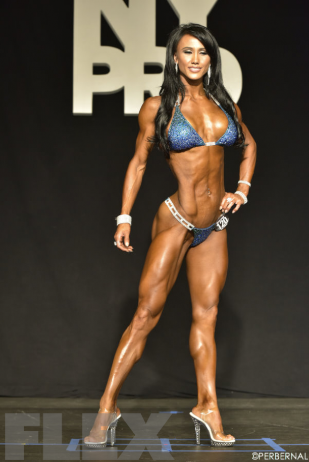 IFBB PRO & Olympian Francesca Lauren-Cuties Conquering The Stage