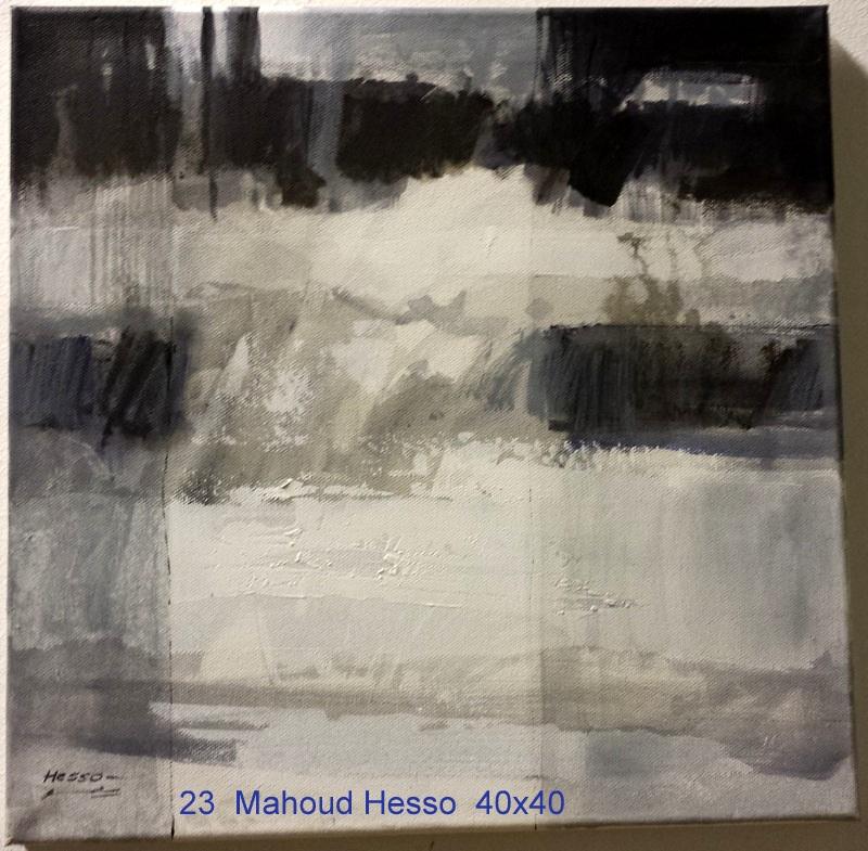 023 Hesso Mahoud 40x40cm