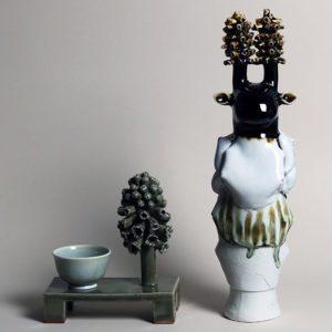 Systrarna Jobs, keramik och textil, Thielska galleriet – FULLBOKAT!
