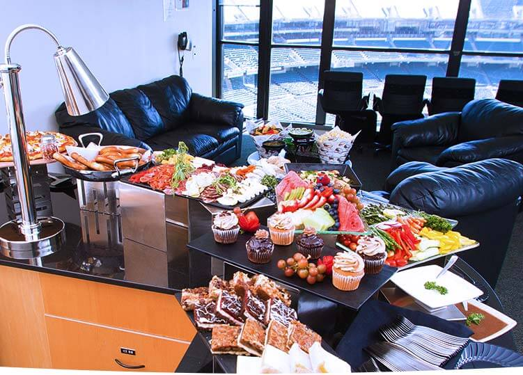 Suite Catering Options
