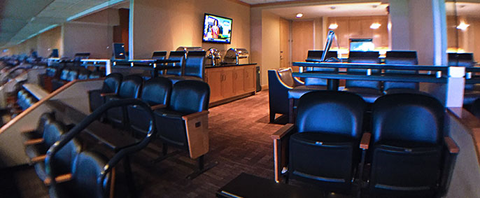 Oracle Arena Suite Amenities