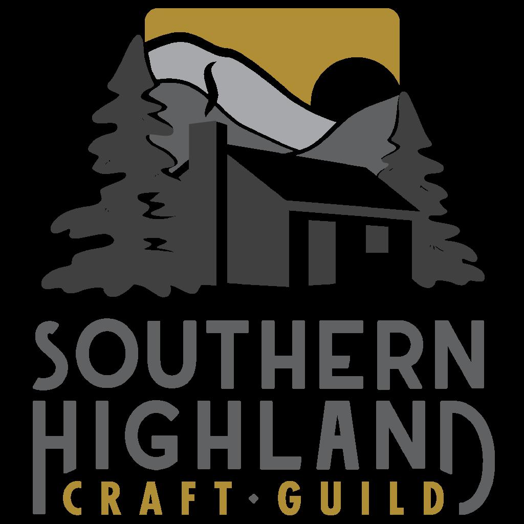 square full color logo, shcg, southern highland craft guild