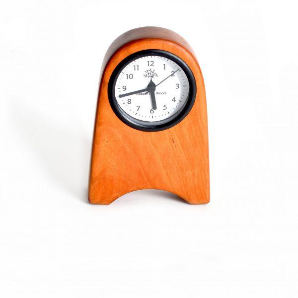 small desk clock, handmade wooden small clock, sabbath day woods, man gift, office decor, mantle clock, handmade room decor, southern craft, Appalachian clock