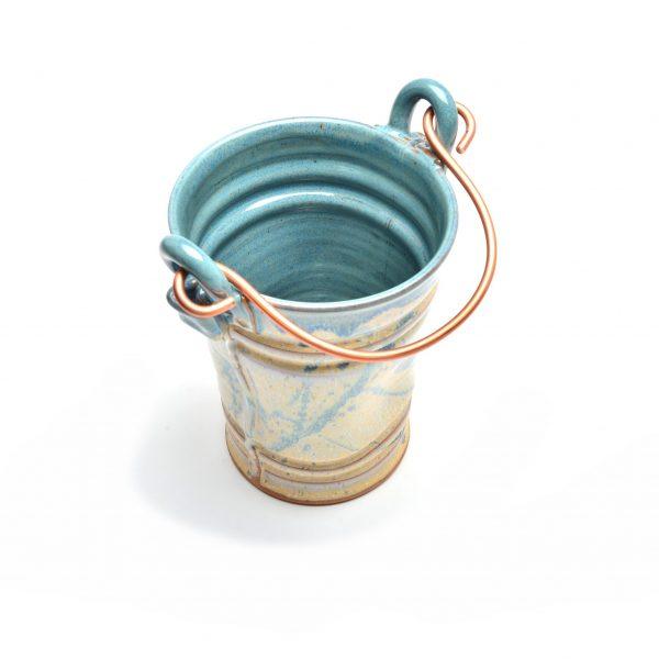 sage and cream utensil holder, unique kitchen gadget, handmade kitchen, asheville potter,