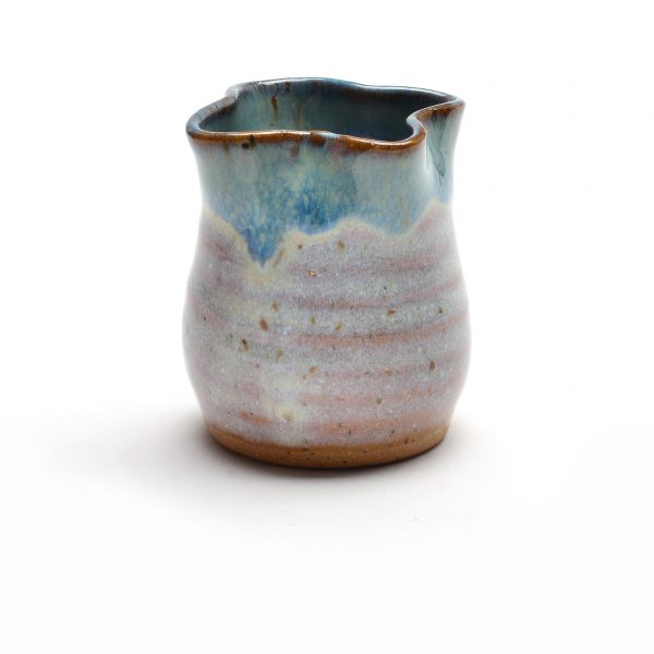 ceramic miniature, handmade toothpick holder, sue grier mini
