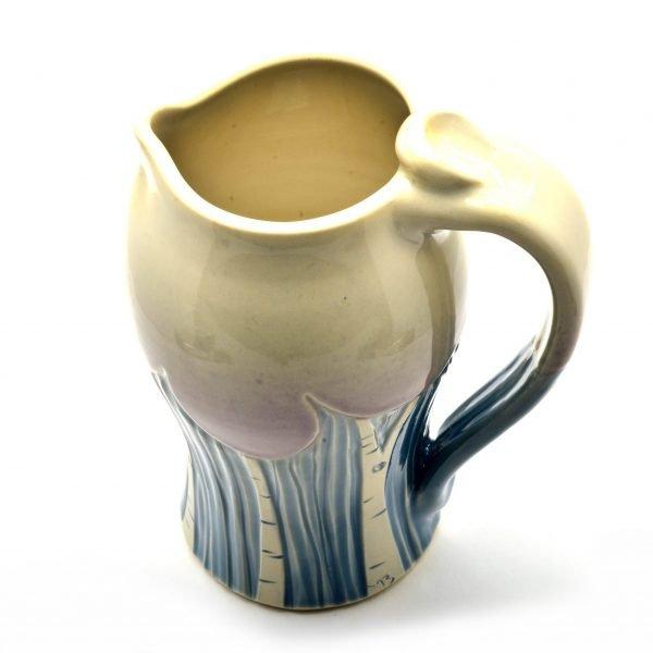 wheel thrown pottery, seasonal pots, tree decor, doctor seuss art, birch tree art