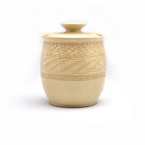 ceramic jar, handmade jar, affordable pottery