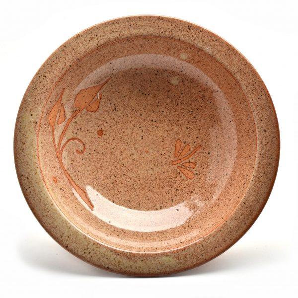 dragonfly ceramic bowl
