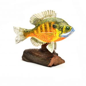 folk art center, fish wood carving, traditional southern craft